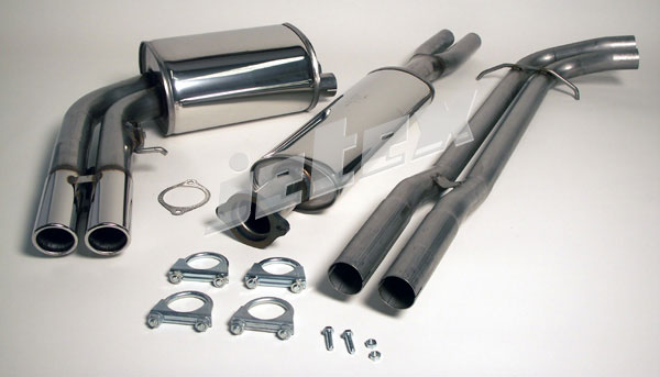 volvo s60r v70r 304 stainless steel performance exhaust. Black Bedroom Furniture Sets. Home Design Ideas