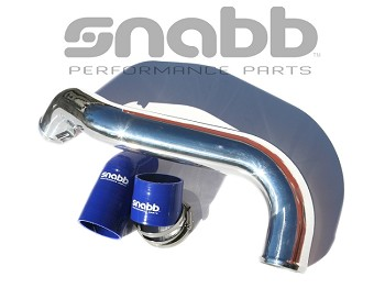 Performance Fresh Air Pipe P1-T5 Polished -Blue