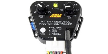 AEM water/methanol injection