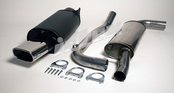 S40  2001-2003 Jetex 304 Stainless steel high flow exhaust