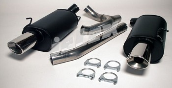 Volvo 850-V70 AWD Dual outlet 409 Stainless Steel performance exhaust