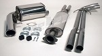 Volvo S60 AWD 2001-2009 304 Stainless Steel Performance Exhaust