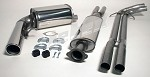 Volvo XC70 II AWD  2001-2007 304 Stainless Steel Performance Exhaust