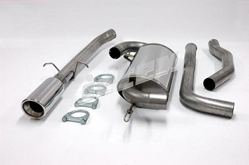 Volvo 850 FWD single resonator 304 Stainless Steel performance exhaust