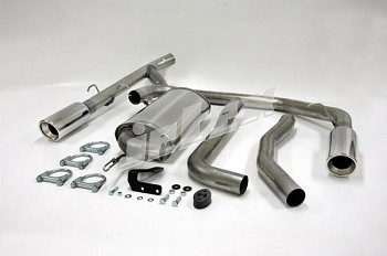 Volvo 850 FWD Dual outlet single resonator 304 Stainless Steel performance exhaust