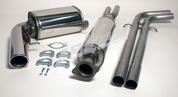 Volvo V70 2001-2007 304 Stainless Steel Performance Exhaust