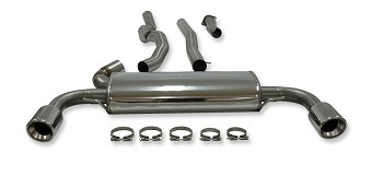 Volvo S60 II/V60 FWD 2012-2013 304 Stainless Steel Performance Exhaust